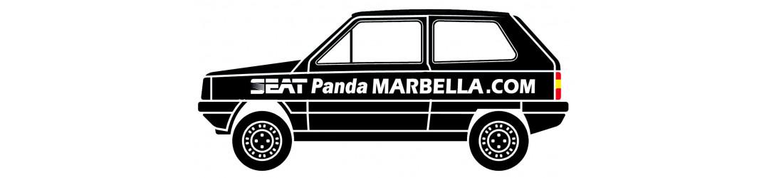 seat panda, marbella, sisley